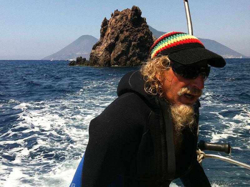In barca con Barni