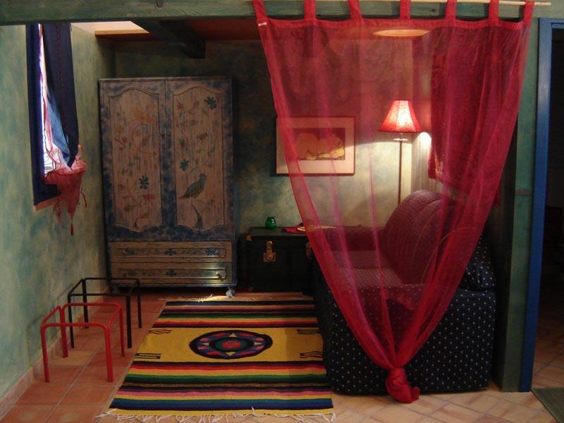 Agriturismo e b&b a Lipari, la camera Verde
